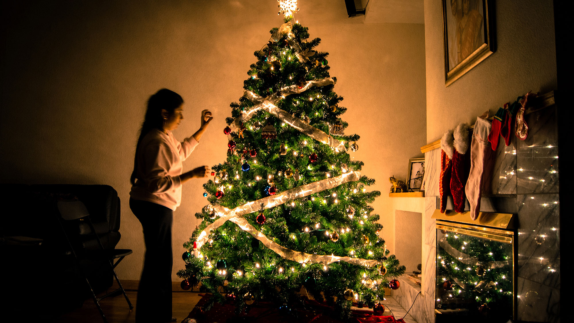 Weihnachten im Eigenheim