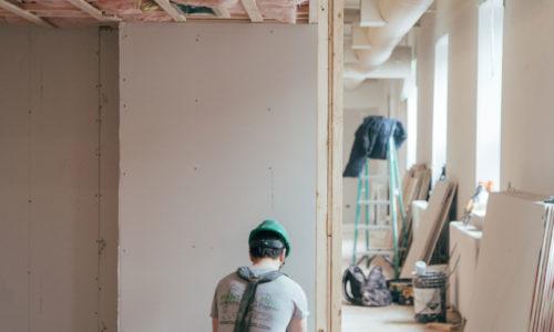 Renovierung und Sanierung